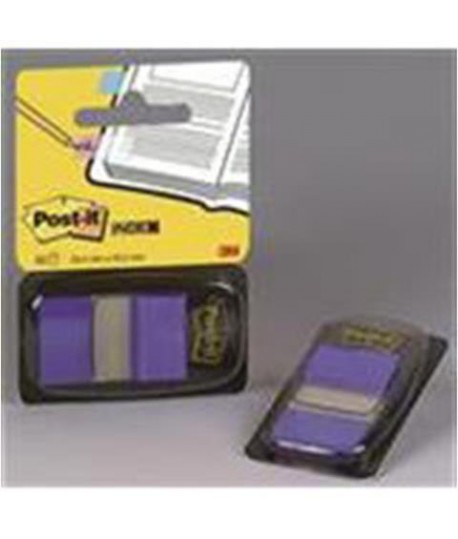 POST-IT INDEX 3M 680-2 BLU CF.50PZ