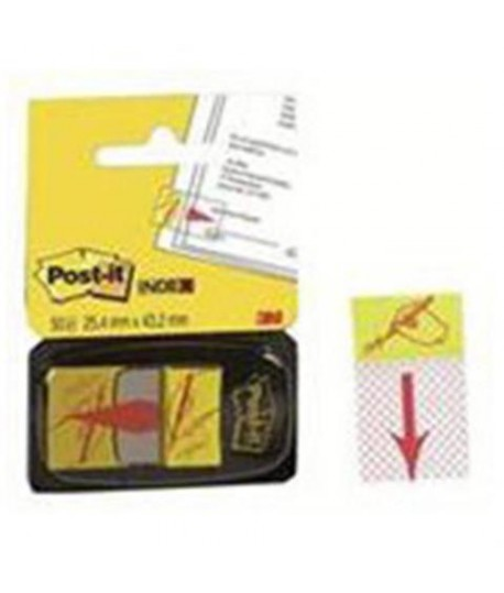 POST-IT INDEX 3M 680-31 FIRMARE 50PZ