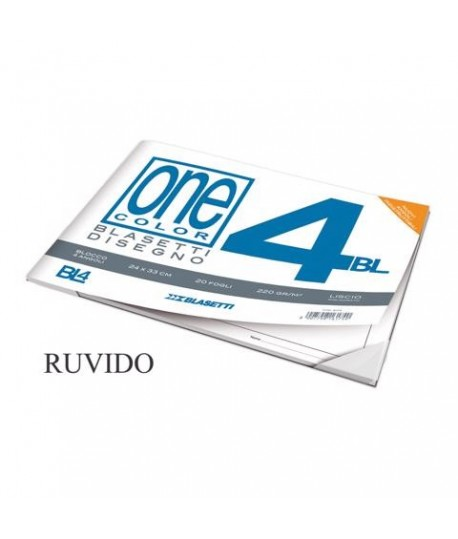 ALBUM DISEGNO BLAS. 4 24X33 RUVIDO 20FF