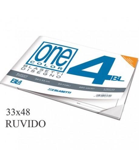 ALBUM DISEGNO BLAS. 4 33X48 RUVIDO 20FF