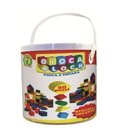MAZZEO 02277 SECCHIELLO GIOCABLOCK 50PZ