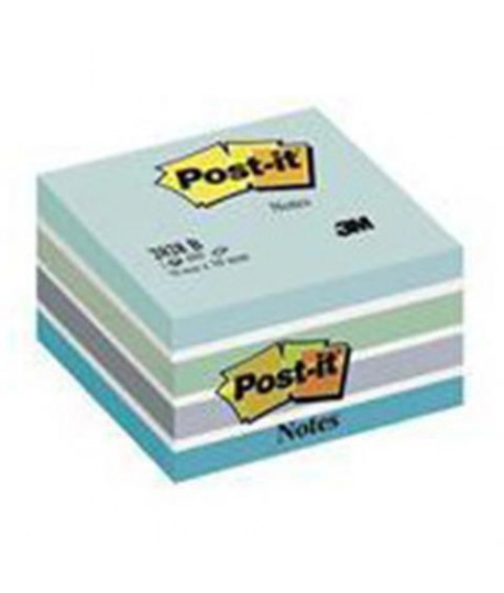 CUBO POST-IT 3M 2028 AQUARELLE BLU