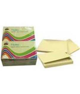 INMIND NOTES MM76*127 GIALLO 100FF 12PZ