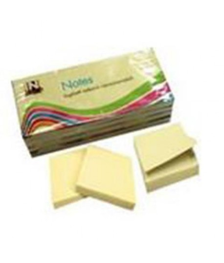 INMIND NOTES MM51*38 GIALLO 100FF 12PZ