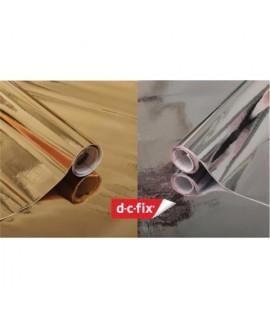 PELLICOLA ADES. D-C-FIX METAL H.45CM 15M