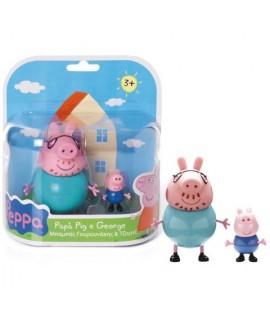 PREZIOSI CCP1470 PEPPA PIG+PAPA'GEORGE