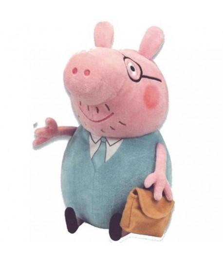 BYNNEY T96233 PELUCHE DADDY PIG CM 33