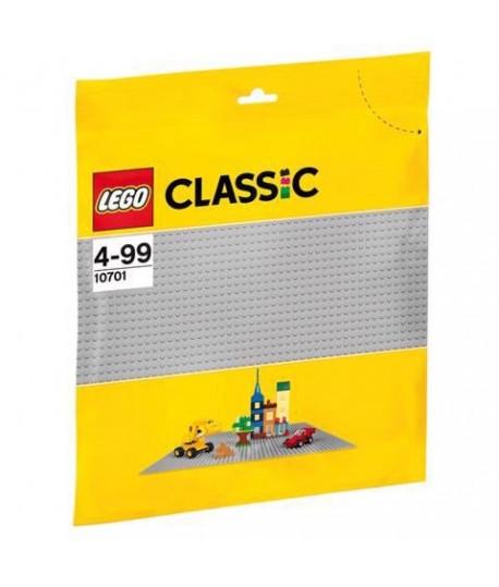LEGO 10701 BASE GRIGIO CLASSIC CM 26X31
