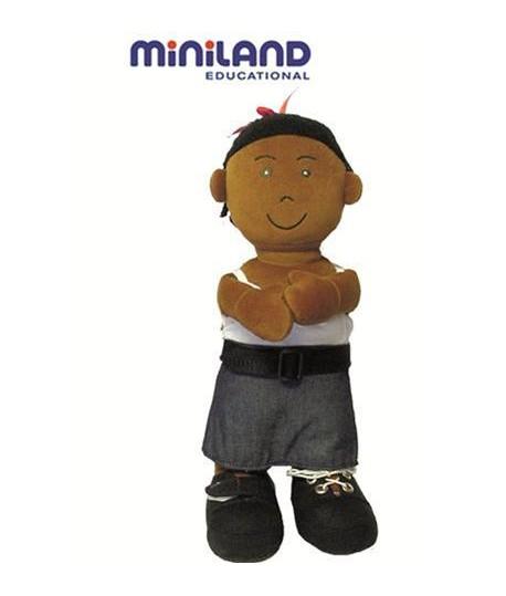 MINILAND 96304 BIMBA AFRICANA STOFFA