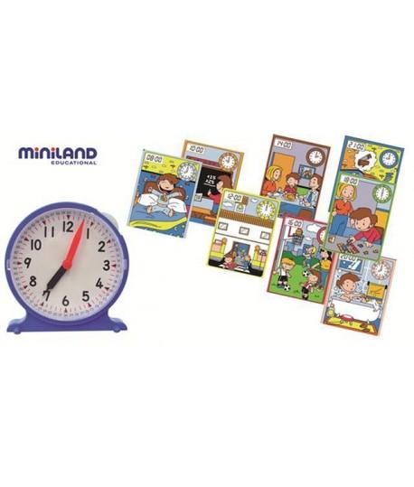 MINILAND 95214 OROLOGIO + 6 CARDS