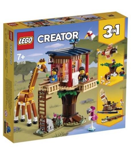 LEGO CREATOR 31116 CASA ALBERO SAFARI