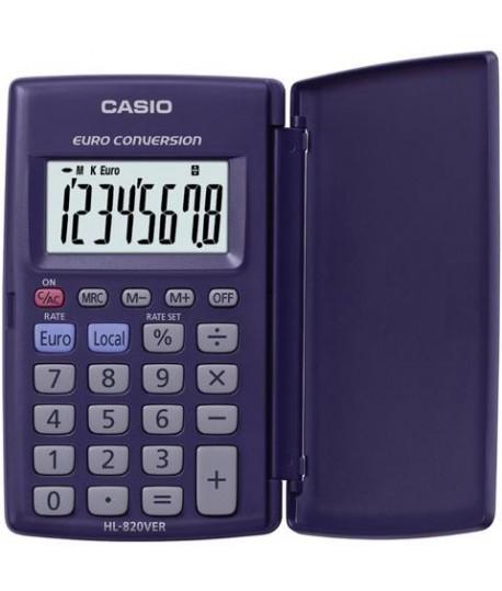 CALCOLATRICE CASIO HL-820 DISPLAY 8C