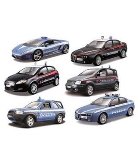 BURAGO 18-24000 SECURITY SCALA 1:24