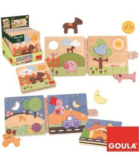 GOULA 53089 PUZZLE DOPPIO LEGNO
