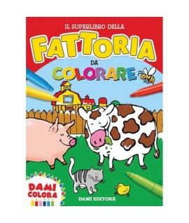 SUPERLIBRO FATTORIA DA COLORARE 82487T