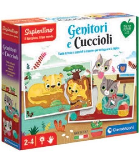 CLEMENTONI 16376 GENITORI E CUCCIOLI