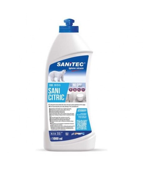 DISINCROSTANTE GEL SANI CITRIC 1 LT.