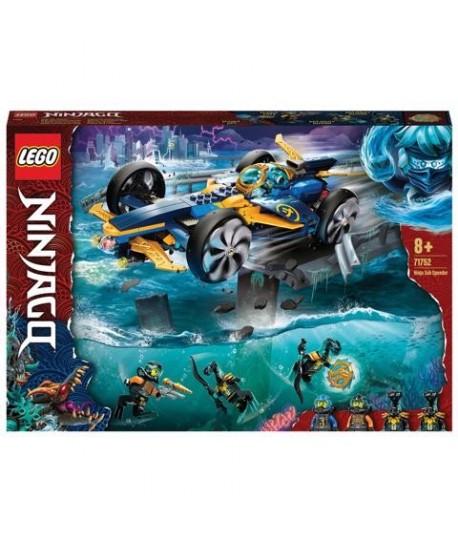 LEGO NINJAGO 71752 BOLIDE SUBACQUEO