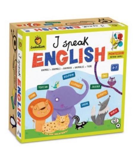 LUDATTICA 21160 MONTESSORI SPEAK ENGLISH