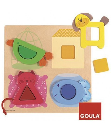 GOULA 53128 PUZZLE ANIMALI
