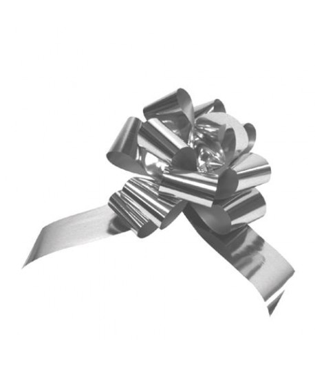 FIOCCO STRIP METAL 31MM ARGENTO 50PZ