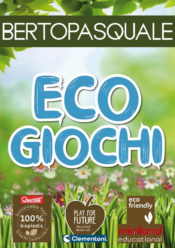 Catalogo ECO GIOCHI