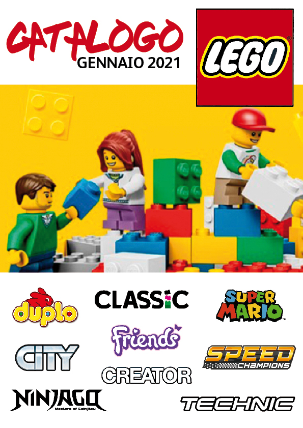 LEGO Catalogo Gennaio 2021